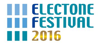 ELECTONE FESTIVAL2016ロゴ