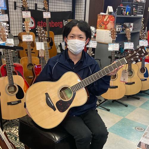 ヤマハアコースティックギターFS820